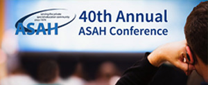 ASAH 40th Annual Conference